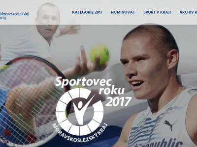 Spuštění nového webu Sportovec roku MS kraje