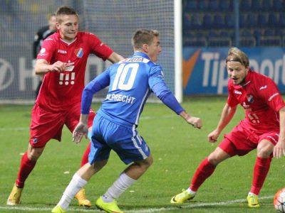 Baník Ostrava je po 14. kole poslední v tabulce