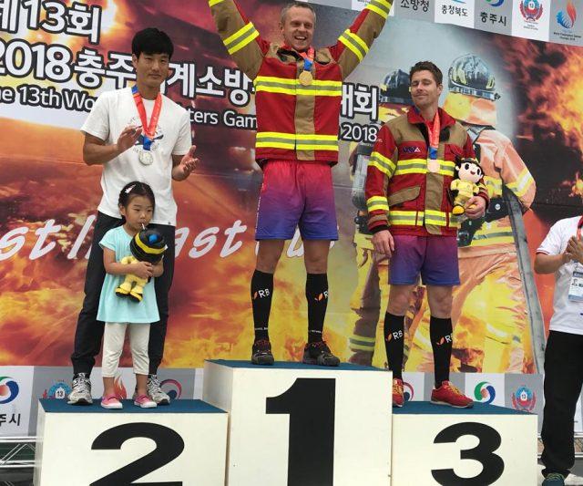 Tvrdí hasiči přivezli do Ostravy 5 zlatých medailí ze světových her v Jižní Koreji
