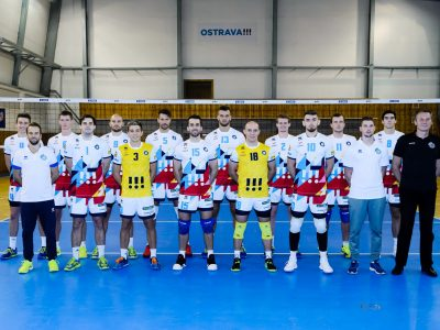 Ostravští volejbalisté narazili v osmifinále evropského Poháru CEV na nejslavnější klub světa – italskou Modenu
